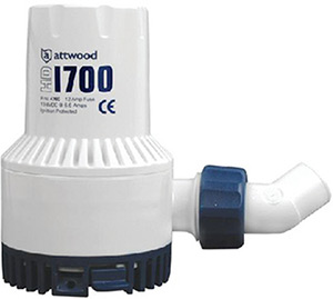Attwood Heavy Duty Bilge Pump 1700 Gph