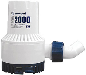 Attwood Heavy Duty Bilge Pump 2000 GPH
