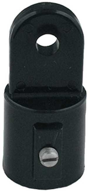 "External Eye End, 7/8"" Black, Pair"""