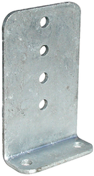 "Bunk Bracket 10"" Galv."""