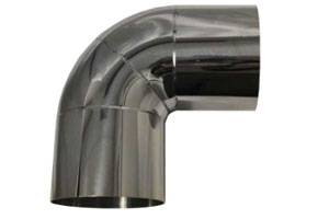 "3.00"" HYDRO-FORMED 90 DEGREE ELBOW"
