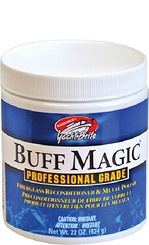 Buff Magic, White, 10 lb. Pail