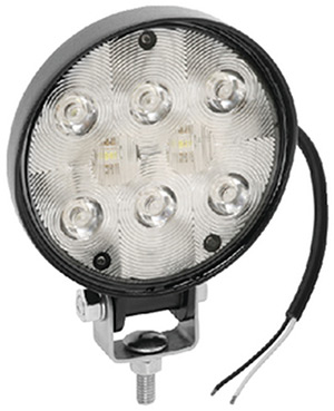 Deck Light, 6 Diode, Round