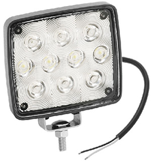 Deck Light, 10 Diode, Rectangular