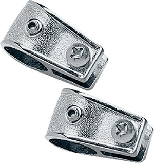 "Taylor Chromed Zamak Jaw Slide 7/8"" (Sold As Pair)"""