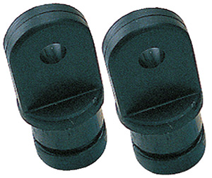 "Internal Eye End, 7/8"" Black, Pair"""