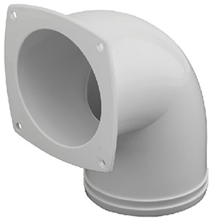 Hose Vent Elbow, 3""