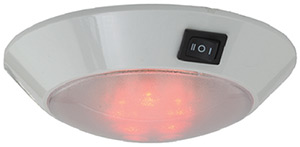 LED Day/Night Dome Light, White