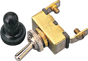 Brass Toggle Switch - On/Off