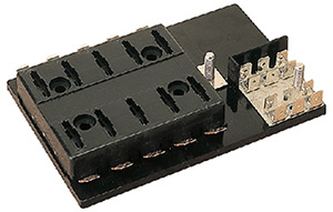 Atc Fuse Block With Ground Block, 10-Gang