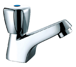 Scandvik 70000 Chrome Plated Brass Classic Cold Water Only Basin Tap
