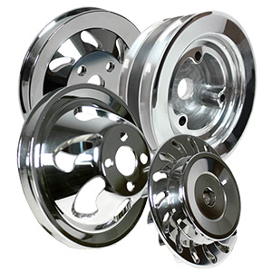 Billet V-Groove Engine Pulley Kit For Mercury Big Block Chevy Generation 4
