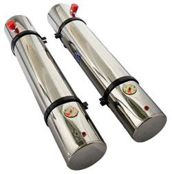 "Fuel Tanks - 8-1/2 x 48"" 10 Gallon with Sender"