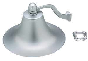 "Seachoice 6"" Chrome Plated Brass Fog Bell"""