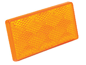 Seachoice Submersible Rectangular Reflector With Adhesive Backing (2 Per Pack)