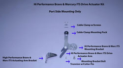 Hi Performance Bravo & Merc Its Drive Actuator Kit