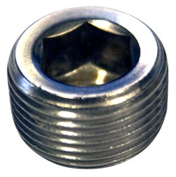 "3/4"" NPT Stainless Steel Pipe Plug"