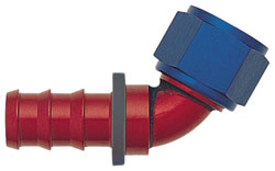 "-6 AN to 3/8"" Push-On Hose End"