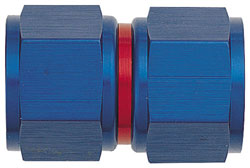 Red/Blue AN Female to Female Swivel Coupling