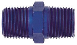 Blue Male NPT Pipe Coupling