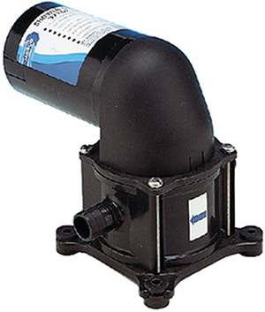 Bilge/Shower Drain Diaphragm Pump, 3.4 GPM