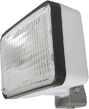 4X6 12V Halo Floodlight White