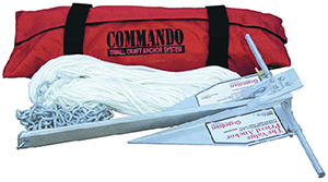 Fortress Commando Small Craft Anchor System