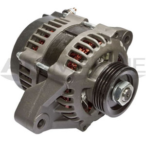 Mercury O/B Alternator 2001-2011 75-115 HP 12V 50-Amp 4-Groove Serpentine Pulley, Replaces Merc # 89