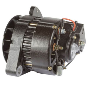 "CAT, Cummins & Other Marine Diesel Engines 24V 42-Amp 1"" Mounting Foot with 3-Hole Adjustable Ear"