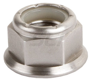 7/16-14 Flanged Nylock Nut