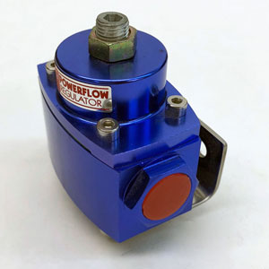 "Blue 2-Port Fuel Regulator (1) 1/2"" NPT Inlet Port"
