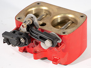 Mercruiser Throttle Body Red with Hardware