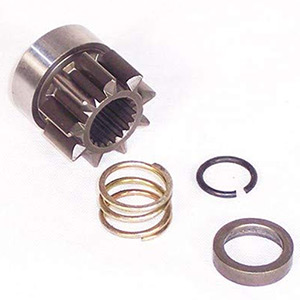 9 Tooth Replacement Starter Gear and Spring for 620-10058