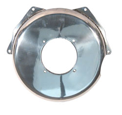 Polished Aluminum Small & Big Block Chevy Bellhousing / Flywheel Cover