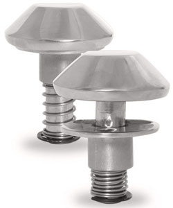 Stainless Steel Pop-Up Mushroom Cleats