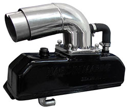 "Seaward Series ""Alpha/Bravo - 3"" Taller"" Small Block Chevrolet Exhaust System"