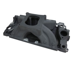 XS Xtreme Hard Anodized Finish Single Plane BBC Rectangular Port Intake Manifold