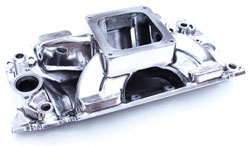 "Big Block Chevy ""XS"" Xtreme 4500 Rectangular Port Intake Manifold - Polished"