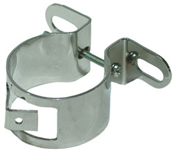 Universal Mount Chrome Coil Bracket