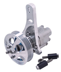 Gen 4 Stainless Steel Pump And Bracket Mercury Sea Pump Assembly - Serpentine