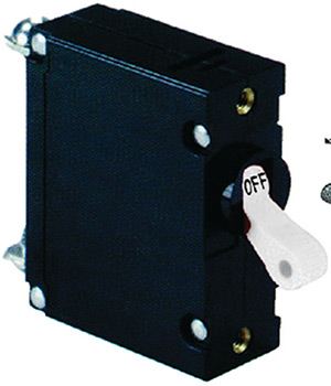 Ancor Magnetic Double Pole AC Circuit Breaker With White Toggle