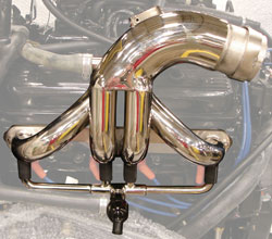 Small Block Chevy E-Top Headers - Satin