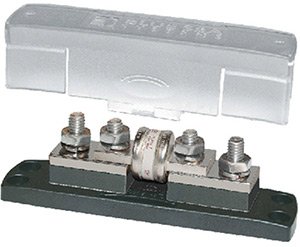 Blue Sea Systems 5502 Class T Fuse Block With Insulating Cover - 225 To 400a