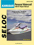 Service Manual Kawasaki PWC 1992-1997