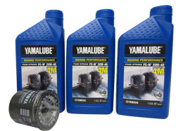 Yamaha Oil Change Kit. OEM# LUB-MRNSM-KT-10