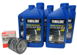 Yamaha Oil Change Kit. OEM# LUB-MRNMR-KT-10