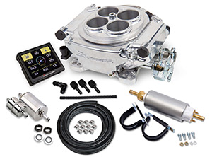 Holley Sniper EFI Self-Tuning Master Kit - Shiny, Black Ceramic or Classic Gold