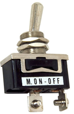 Standard Duty Toggle Switch Momentary On/Off Single Pole