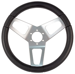 "13-1/2"" Max Papis Ovale Steering Wheel"