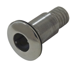 "1-1/4"" Slip-On Hose Stainless Steel Water Discharge Fitting"